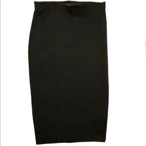 Solemio Los Angeles black pencil skirt see msmts